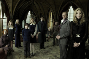 The cast of the new Tim Burton film Dark Shadows. Photo / Supplied