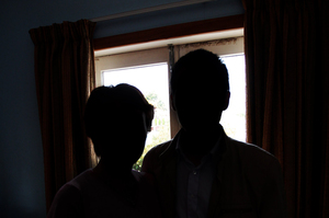 The couple live in fear of an attack. Photo / Doug Sherring