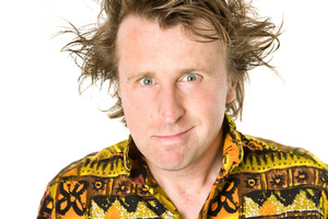 Comedian Milton Jones. Photo / Supplied