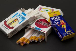 It's still legal to sell candy-stick and bubblegum cigarettes. Photo / Brett Phibbs