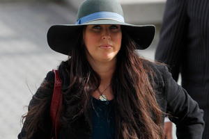 Lisa Cocker, formerly Lisa lewis, was remanded on bail when she appeared at the Hamilton District Court yesterday on a charge of assaulting a man after a party. Photo / Christine Cornege