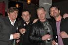 Comedians Rhys Darby, Dan Willis, Adam Ethan Crow and Reuben Lee.  Photo / Supplied
