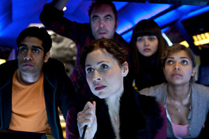 Choice TV's line-up includes submarine thriller 'The Deep', starring Minnie Driver and James Nesbitt. Photo / Supplied