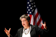 Department of Homeland Security Secretary Janet Napolitano. Photo / AP 