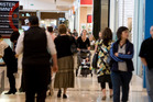 Westfield businesses employ about 9000 staff  - but retailers face an average $4583 rates increase. Photo /  Richard Robinson