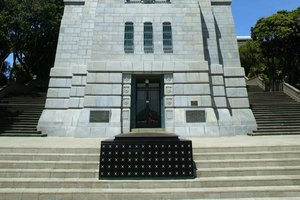 The Tomb of the Unknown Warrior at the National War Memorial in Wellington. File photo / Mark Mitchell