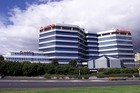 The central Auckland property has housed Vodafone and Auckland Regional Council in the past. Photo / NZ Herald
