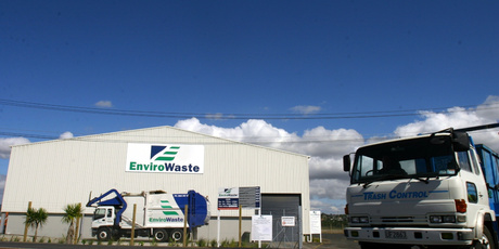 Private equity company Ironbridge is putting its EnviroWaste company up for sale. File photo / NZ Herald