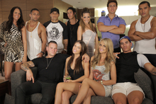 Cast of  the 'factual reality' TV show The GC which debuted on TV3 on Wednesday this week. Photo / Supplied