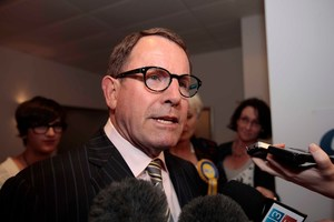 John Banks says he was absolutely pedantic about paying for everything in Hong Kong himself and the management of the Hyatt Hotel will attest to that. Photo / APN