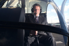 John Banks is a helicopter pilot who says he can't remember any visits to Dotcom's mansion. Photo / APN