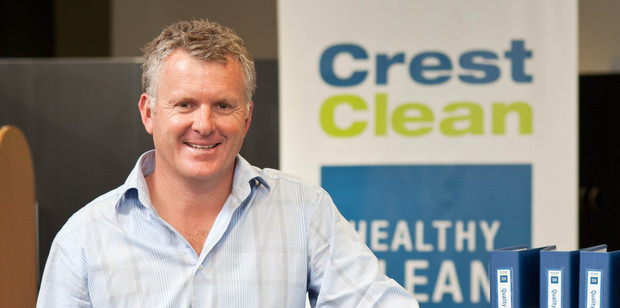 Crest Clean's Grant McLauchlan is seeing the signs of economic recovery. Photo / Graham Warman