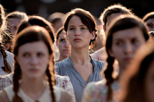 Jennifer Lawrence in the film adaption of the first Hunger Games book. Photo / supplied