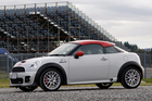 Mini Coupe JCW. Photo / Supplied