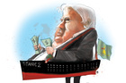 Australia's Clive Palmer  has hit headlines with his plans to build a modernised replica of the Titanic. Illustration / Rod Emmerson