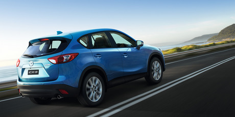 Mazda CX-5.  Photo / Supplied