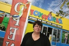  Toyworld owner Marie-Therese Evans said she is frustrated by constant vandalism and graffiti. Photo / Wairarapa Times Age