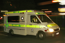 Three people have been injured in a car accident in Hamilton.