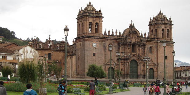 Plaza de Armas forms the heart of the Peruvian city of Cusco. Photo / Jill Worrall