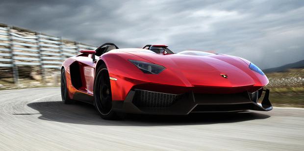 Lamborghini's jaw-dropping Aventador J. Photo / Supplied