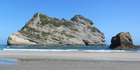 View: Wharariki Beach, Tasman