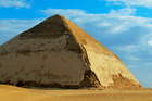 The Bent Pyramid at Dahshur, south of Cairo. The Egyptian Revolution has taken a toll on the country's tourism. Photo / Thinkstock