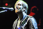 The Black Keys' Dan Auerbach performs at Madison Square Garden in New York.  Photo / AP