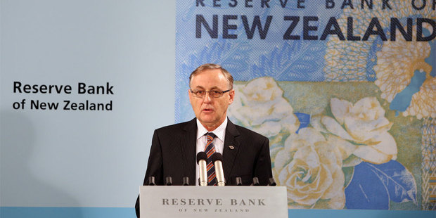 Wage inflation slowed in the first quarter of this year, which means Reserve Bank Governor Alan Bollard (pictured) will be under less pressure to lift official interest rates. Photo / Mark Mitchell