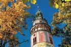 Cesky Krumlov's Castle Tower. Photo / David Hill