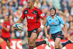 Robbie Fruean romped away with two tries and had a big hand in another. Photo / Getty Images