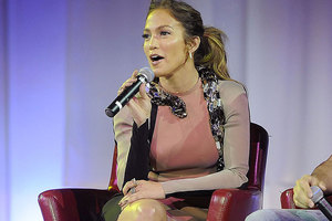 Jennifer Lopez is being suded by a former driver. Photo / AP