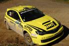 Masterton's Richard Mason has won the Trusthouse Racetech Rally Wairarapa. Photo / Euan Cameron