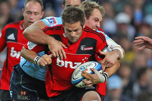 Richie McCaw will start from the bench for the second straight week. Photo / Getty Images