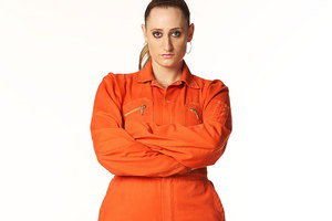 Misfits star Lauren Socha has been sentenced to community service for assaulting a taxi driver. Photo / Supplied
