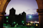 The early Spanish Cathedral on Plaza de Armas. Photo / Supplied