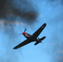 A P-40 Kittyhawk displays its prowess at the 2012 event. Photo / Michael Walsh