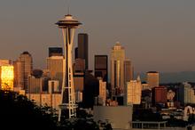 The Seattle skyline at dusk. Photo / Thinkstock