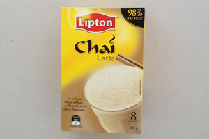 Lipton Chai Latte - $6.68 for 18g g or 8 serves. Photo / Wendyl Nissen