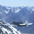 A plane flies over the Souther Alps at the 2008 Warbirds Over Wanaka airshow. Photo / Supplied