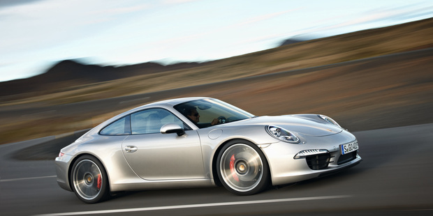 Obedient around town, in Sport mode the 991 version of the Porsche 911 howls away. Photo / Supplied