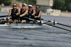 The lightweight men's four. Photo / Rowing New Zealand