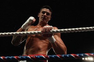 It is estimated Sonny Bill Williams earns up to $1 million a year from boxing. Photo / Getty Images