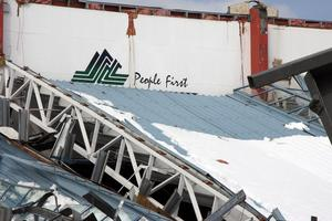 Stadium Southland collapsed because of heavy snowfall, construction defects and design problems. Photo / File