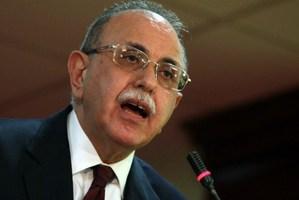 Libya's interim prime minister Abdel Rahman al-Kib. Photo / AFP