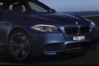 BMW's super-powerful 2012 M5 gets a shove around Australia's challenging Phillip Island circuit.