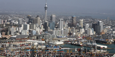 Auckland has scored the lowest grades of any local authority in a new business satisfaction survey. Photo / Herald on Sunday