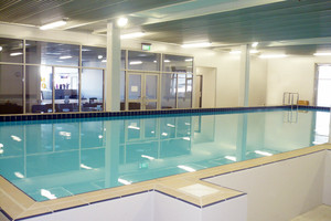 Among the properties to sell was the Swimgym in Howick.