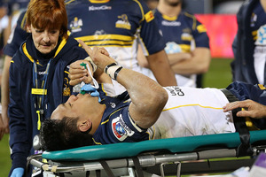 Christian Lealiifano will miss six months of rugby. Photo / Getty Images