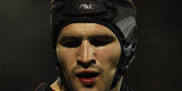 Friend played 75 minutes and led the team with 53 tackles after breaking his jaw early in the Warriors' 30-20 win over the Broncos. Photo / Getty Images.