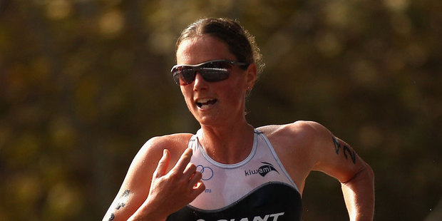 New Zealand triathlete Nicky Samuels has overcome surgery on an abscessed appendix to take the start line in a race potentially pivotal for her Olympics prospects. Photo / Getty Images.